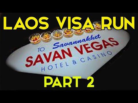 "#VLOG 26 THAILAND EDUCATION VISA RUN IN LAOS ""PART 2' @- JONNYS LIVING IN THAILAND VLOG"