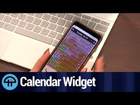 Calendar Widget by Home Agenda for Android