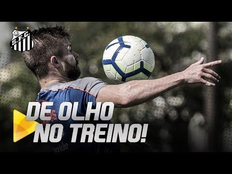SANTOS CONTINUA COM OS TREINAMENTOS NO CT | DE OLHO NO TREINO (03/07/19)