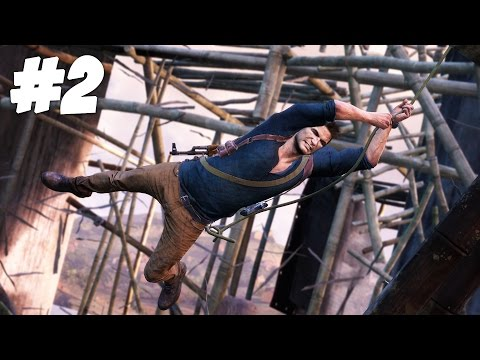 CRASHING THE PARTY!! | Uncharted 4 - Part 2