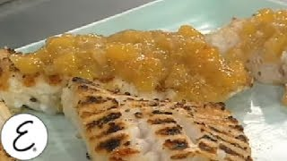 Grilled Grouper With Mango Habanero Bbq Sauce - Emeril Lagasse