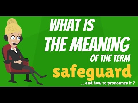 What is SAFEGUARD? What does SAFEGUARD mean? SAFEGUARD meaning, definition & explanation