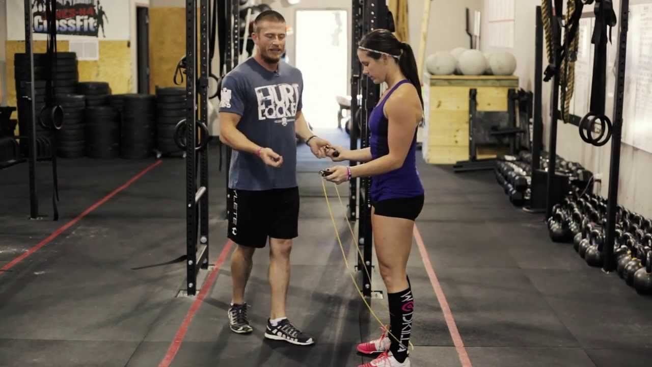 How to do Double Unders for Crossfit - YouTube