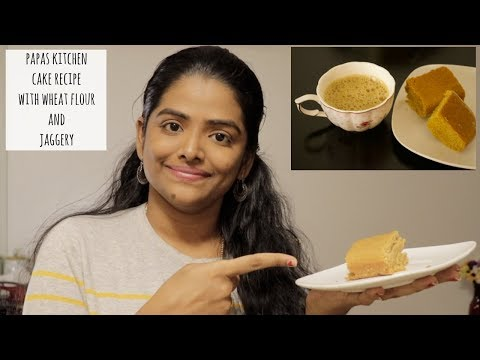 தமிழ்: CAKE USING WHEAT FLOUR AND JAGGERY||EGGLESS CAKE||FRIDAY EXPERIMENT