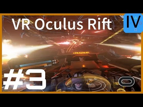 Let's Play VR Eve: Valkyrie #3 Oculus Rift Gameplay German D
