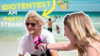 IDIOTENTEST am Strand (X-JAM 2018) WIE SCHLAU sind Leute mit ABITUR/MATURA⁉️ l Kathinska