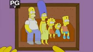 The Simpsons - S18E10 - The Wife Aquatic [Couch Gag]