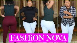 Fashion Nova Cozy Necessities Try on Haul