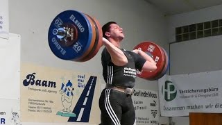 Vasil Gospodinov 180kg Snatch 215kg Clean and Jerk