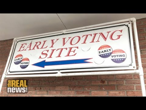 Marylanders Turn Out for Early Voting