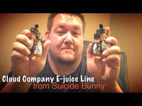 The Cloud Company MAX VG E-juice Line from Suicide Bunny