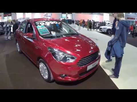 Ford Ka Ka Plus Coolsound New Model  Ruby Red Colour Walkaround And Interior