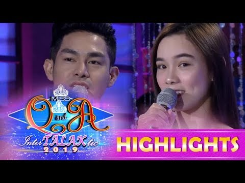 It's Showtime Miss Q and A: Jackque and Ion sing for Vice Ganda