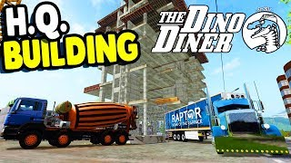 DINO DINER H.Q. Build, HUGE Mining Machine | Rappack Farms #74 | Farming Simulator 17  Gameplay