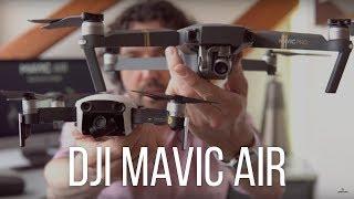 DJI Mavic Air vs Mavic Pro. Který si pořídit?