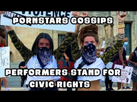 Adult performers stand for civic rights