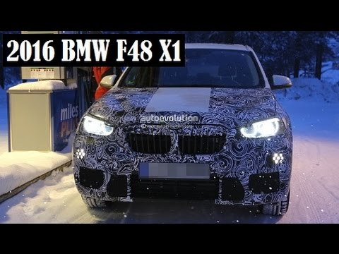2016 bmw f48 x1 with led fog lights spied and will look. Black Bedroom Furniture Sets. Home Design Ideas