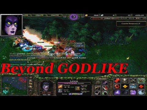 DOTA 1 Lanaya - Templar Assassin BEYOND GODLIKE (HARD GAME)
