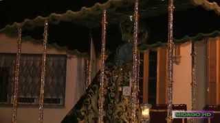 A PIE DE TRONO 2014: DOLORES DEL PUENTE POR T. POBRES Y CURVA RAMPA AURORA www.lacamaracofrade.com