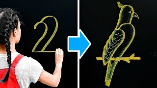 BACK TO SCHOOL || Easy Drawing Tricks