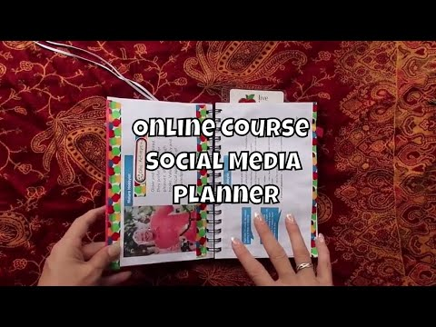 Social Media Planner and Content for Online Courses - Udemy