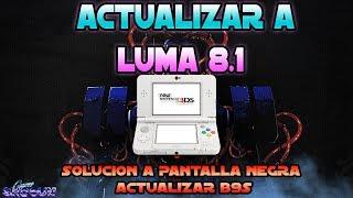 Actualizar Luma a 8.1 y solución a pantalla negra con B9S actualizando a  1.2