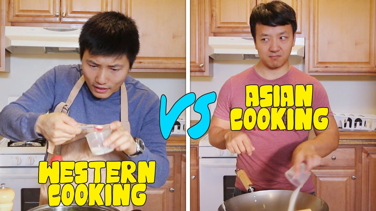 Chinese cooking vs western cooking youtube for Asian and western cuisine