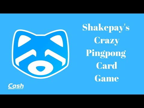 Shakepay's Crazy Pingpong Card Game