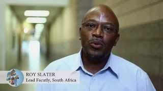 SPC Study Abroad - South Africa Faculty Message: Roy Slater