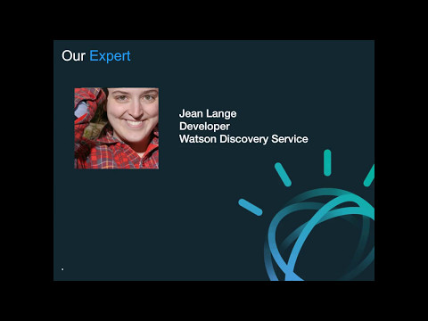 Building with Watson: How to Connect the Dots in your Domain Specific Content