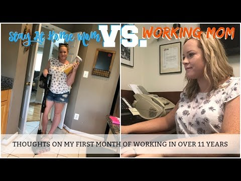 STAY AT HOME MOM VS WORKING MOM. http://bit.ly/2Q6cQQf