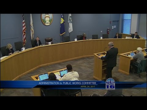 Administration & Public Works Committee Meeting 4/24/2017