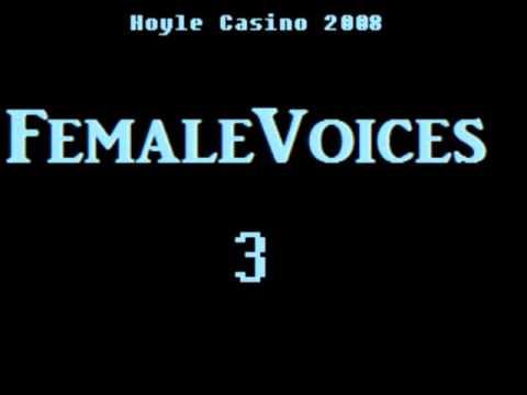 Hoyle Casino 2008 - Custom Female Voice quotes