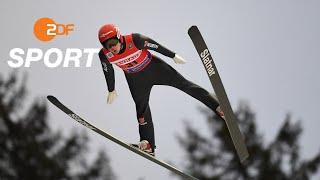 Skispringen: Leyhe und Schmid teilen Rang fünf in Titisee | SPORTextra - ZDFsport