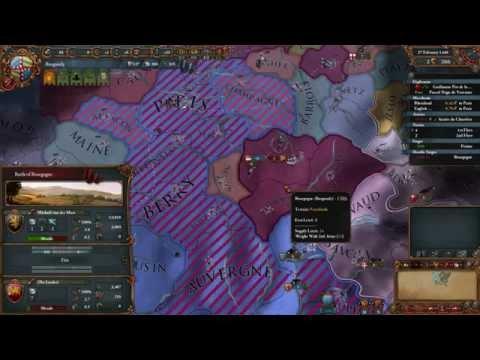 Magyar Let's Play Europa Universalis IV - Burgund Borzalom - 1. Rész