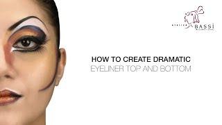 Atelier Bassi Tipps & Tricks von Roger J. Stricker: Wie Dramatische Eyeliner Oben und Unten