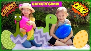 Biggest Surprise Eggs Opening! Hatch N Grow Dino Egg & Surprise Toys