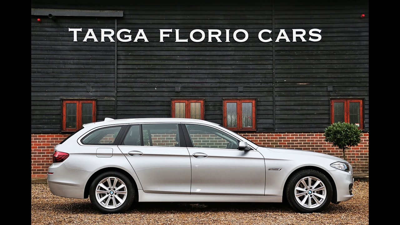 bmw 520d se touring finished in glacier silver with black. Black Bedroom Furniture Sets. Home Design Ideas