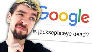 IS JACKSEPTICEYE DEAD? | Googling Myself thumbnail