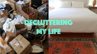 My journey to minimalism (MAJOR decluttering, home organizing, + letting go of things responsibly)