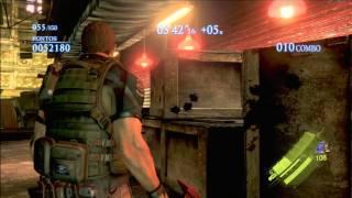Resident Evil 6  Mercenaries - Urban Chaos Chris  rank S