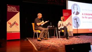 Jennifer Doudna & Lance Knobel : The CRISPR Way To Fix Genes : Uncharted 2014 thumbnail