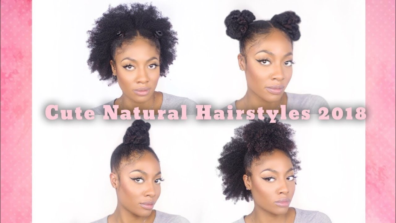 2018 Go To Hair Styles Type 4 Natural Hair Youtube