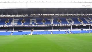 Stadium Tour, Goodison Park, Everton FC