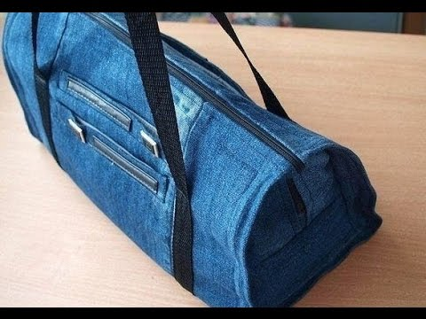diy jeans tasche tasche jeans n hen youtube. Black Bedroom Furniture Sets. Home Design Ideas