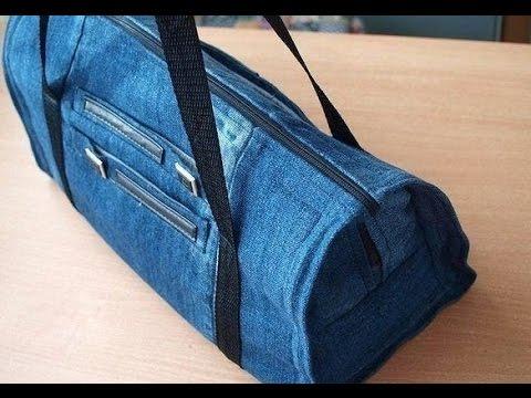 Diy Jeans Tasche Tasche Jeans Nähen Youtube
