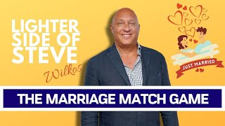 Steve & Rachelle Play The Marriage Match Game!!! (The Steve Wilkos Show)