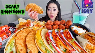 MOST POPULAR TACO BELL (Chalupas + Cheesy Doritos Tacos + Nachos) MUKBANG | Eating Show