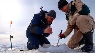 Весенняя рыбалка на щуку Жерлицы по последнему льду Попали на жор