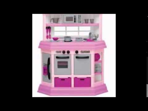 American Plastic Toys Kitchen   YouTube